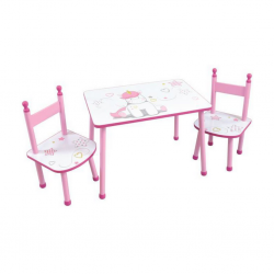 Cijep/Jemini Table + 2 Chairs - Licornes 713194
