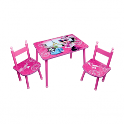 Cijep/Jemini Table + 2 Chairs - Minnie Paris 712885