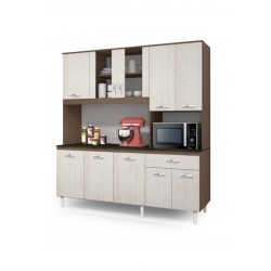Manaus KitFit Kitchen Unit White Particle Board