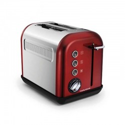 Morphy Richards 222011/EE Red Acc 2 Slice Toaster