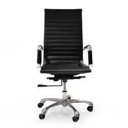 Sora High Back Office Chair Black PU