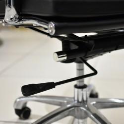 Alfi High Back Office Chair Black  PU