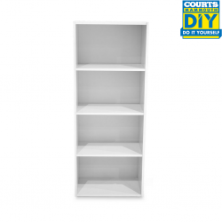 Nexus Shelving White Particle Board MB085