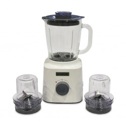 Kenwood BLP31.R0WH 1.6L Glass Blender + 2 Mills