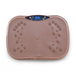 Touchless Brown fitness vibrating machine