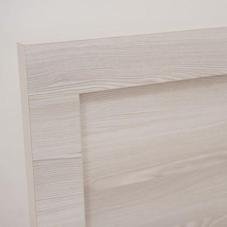 Emilia Bed 150x190 cm Grey MDF