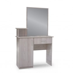 Emilia Dressing Table Grey MDF
