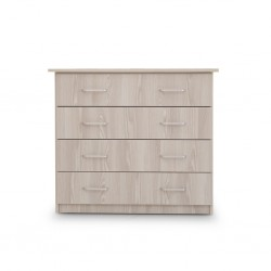 Emilia Chest of Drawers Grey MDF
