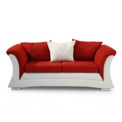 Pablo Sofa 3+2+1 Fabric Red