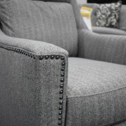 Pierce Swivel Chair Thorn Colour Fabric