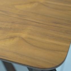 Zeno Coffee Table Walnut Finish