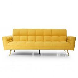 Floresta Sofa Bed Orange Fabric