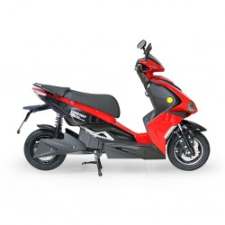 Speedway XD400 2000 Watts (2Kw) Electric Motorcycle Red Bike