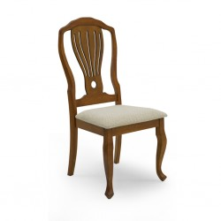 Kingdom Table and 10 Chairs Rubberwood