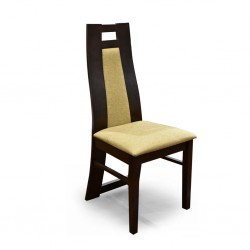 Shemimo Table and 6 Chairs Dark Rubberwood