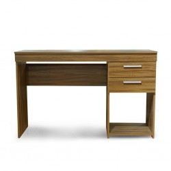 Fraser Office Table Nogal Trend PB W/2 Drawers