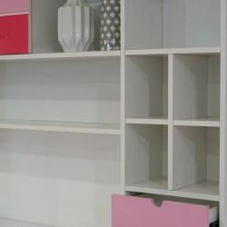 Esma Bedroom Set 107x190 cm Rose Color