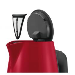 "Bosch TWK6A014 1.7L Cordless 2400W Red Kettle ""O"""