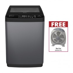 Hisense WTJD802T Washing Machine & FREE Mikachi MBF300J Box Fan