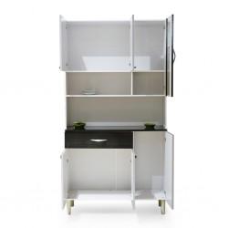 Golden Kitchen Unit PB White/Brown
