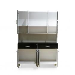 Golden Kitchen Unit PB Black/White