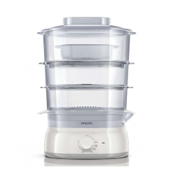 Philips HD9125 9L 3 Bowls Food Steamer