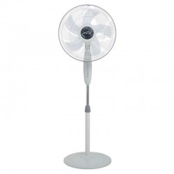 "Mistral MSF1645R 16"" ABS Grey Remote Stand Fan"