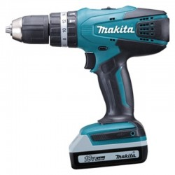 Makita HP457DWE Cordless Percussion Driver Grill