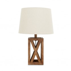 Caged Table Lamp Metal 35x35x35cm