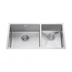 Dura Sink S8143 Double Drainer 810x430x215/190