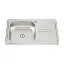 Dura Sink 8050 Single Drainer 800x500x180