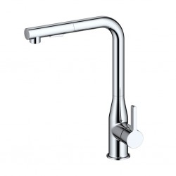 Aquavit Kitchen Single lever Pull Out Mixer Chrome ATKF1113CH