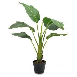 Bird of Paradise Artificial Plant 90cm P.Pot 6''