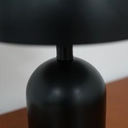 Night Glaze Table Lamp Matt Satin Black 42x32x13cm