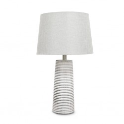 Chalk Ceramic Table Lamp 35x35cm