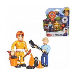 Simba - Fireman Penny & Elvis Figurines Double Pack Ii, 4 Asst. 109251026038
