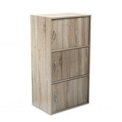 Nexus Shelving Cabinet S.Eiche PB W42xH80xD29 cm