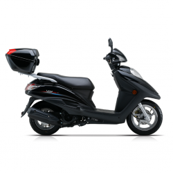 Haojue VH125 Black 125cc Scooter