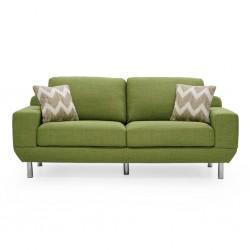 Delance sofa 3+2 in Fabric Milford Grass Col