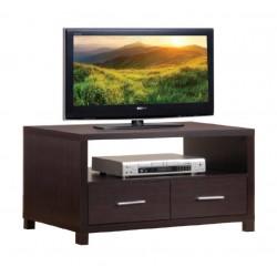 Kallax Espresso Low TV Cabinet Espresso