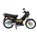 New Way NW-50 50CC Black Moped