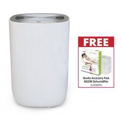 Novita ND298 12L HumiControl Dehumidifier & Free Novita Accessory Pack ND298 Dehumidifier