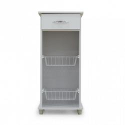 Agata Fruit Cabinet White Particle Board W/1 Drw