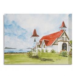 Canvas Painting 80x60cm Cap Malheureux