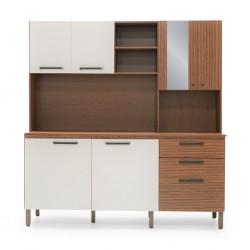 Tampo Kitchen Cabinet Nogueira Off White