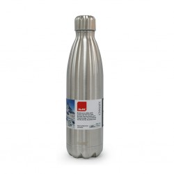 Ibili 758475 Satin S/Steel 750ml Thermo Bottle Double Wall