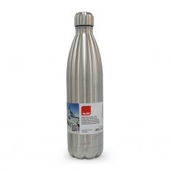 Ibili 758410 Satin S/Steel 1000ml Thermo Bottle Double Wall