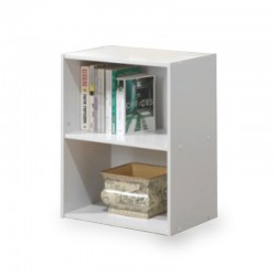 Nexus Shelving White 2 shelf