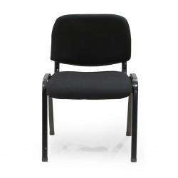 Davos Dining Chair Black Metal Frame