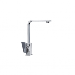 Diplomat Kitchen Mixer With Extended Pipe Spray Rain Drop Water Fall (Glossy) Stainless Steel 6023
